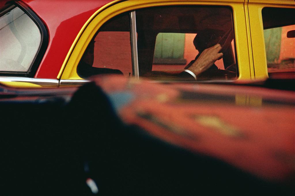 Saul Leiter: Taxi, ca. 1957.