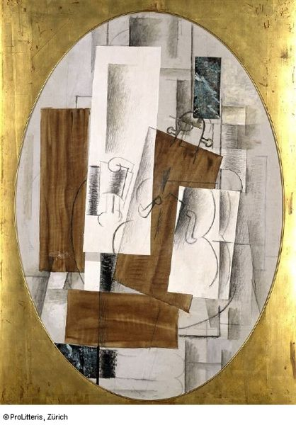 Georges_Braque,_1914,_Violin_and_Glass,_oil,_charcoal_and_pasted_paper_on_canvas,_oval,_116_x_81_cm,_Kunstmuseum_Basel-1